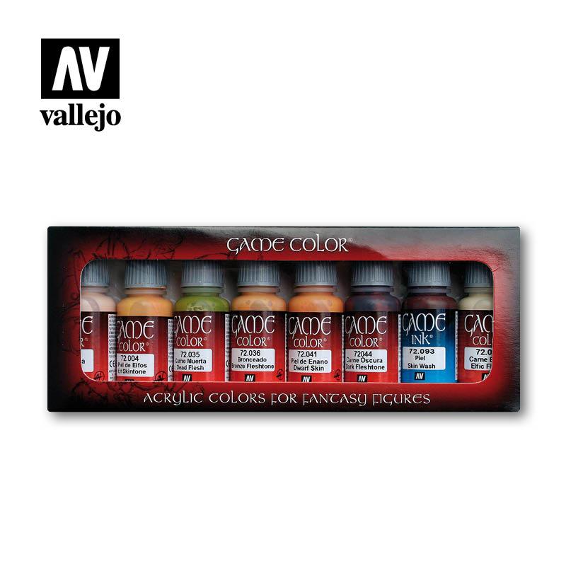 Vallejo Game Color Skin Color Set - Vallejo - VAL-72295