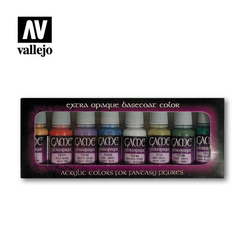Vallejo Game Color Extra Opaque Set - Vallejo - VAL-72294