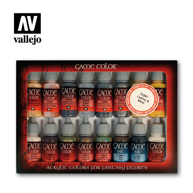 Vallejo Game Color Leather & Metal - Vallejo - VAL-72291