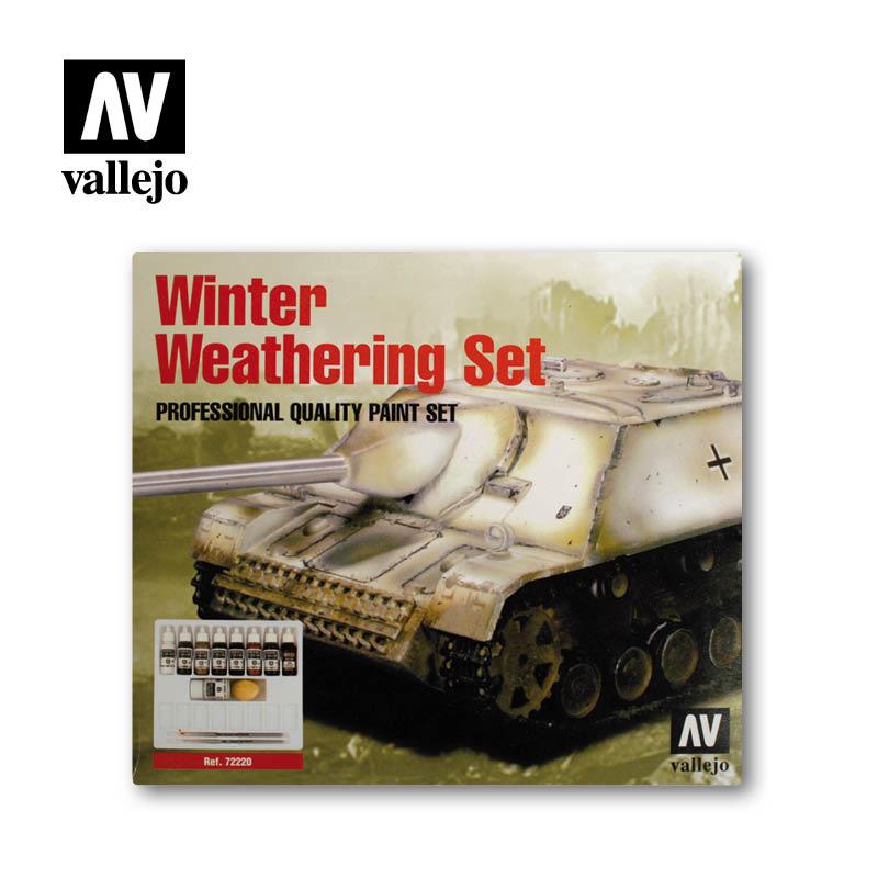 Vallejo Winter Weathering Set - Vallejo - VAL-72220