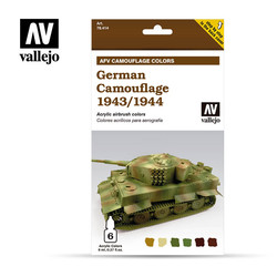 German Camouflage 1943/44 - Vallejo - VAL-78414