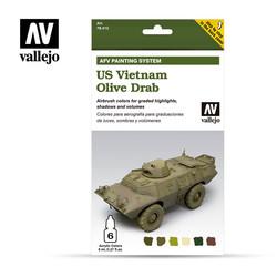 Us Vietnam Olive Drab - Vallejo - VAL-78412