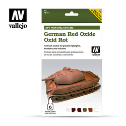 German Red Oxide - Vallejo - VAL-78411