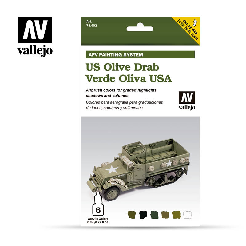 Vallejo Us Army Olive Drab - Vallejo - VAL-78402