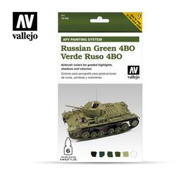 AFV Russian Green 4Bo - Vallejo - VAL-78403