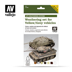 Weather. Yellow/Grey Veh. - Vallejo - VAL-78405