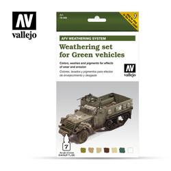 Weathering Green Vehicles - Vallejo - VAL-78406