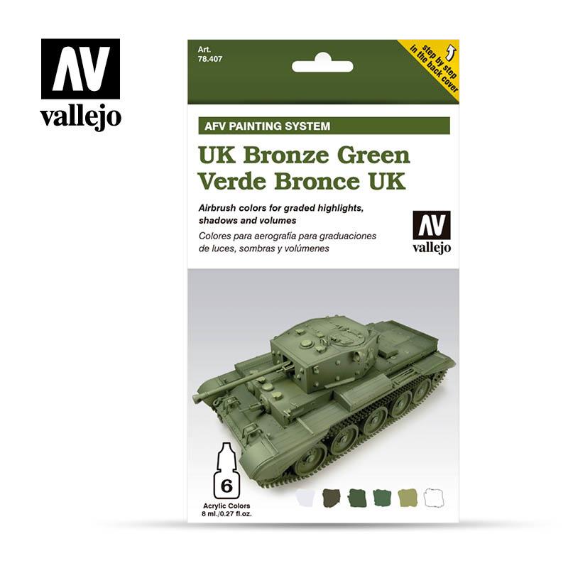 Vallejo Uk Bronze Green - Vallejo - VAL-78407