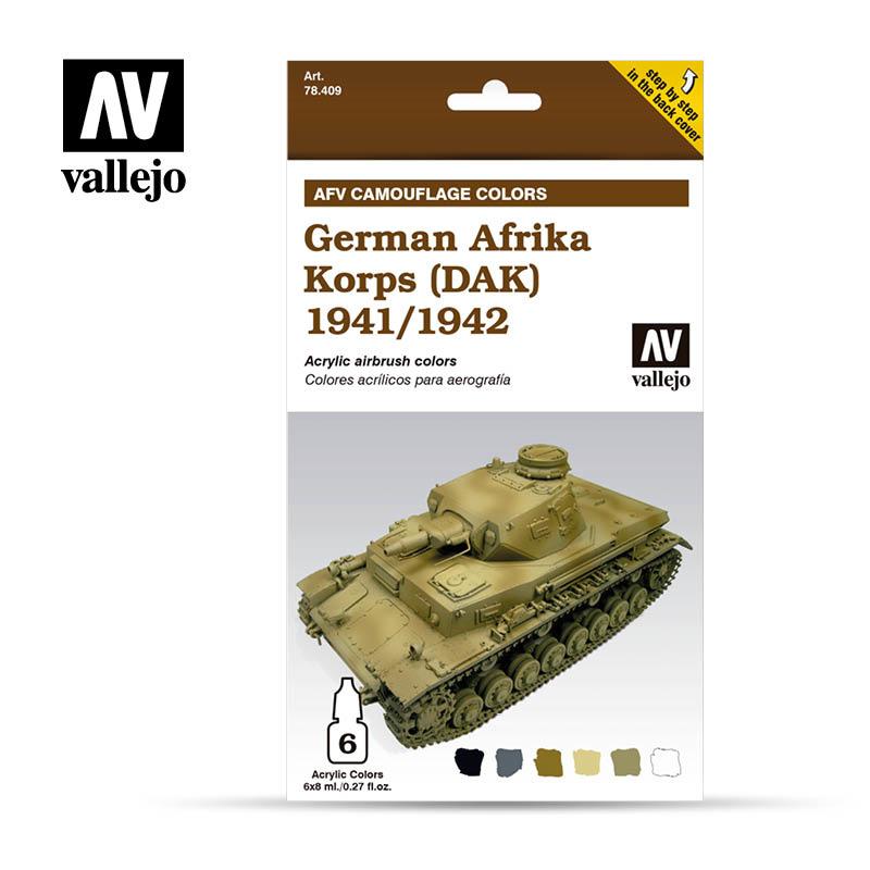 Vallejo German Afr. Korps 1941/42 - Vallejo - VAL-78409