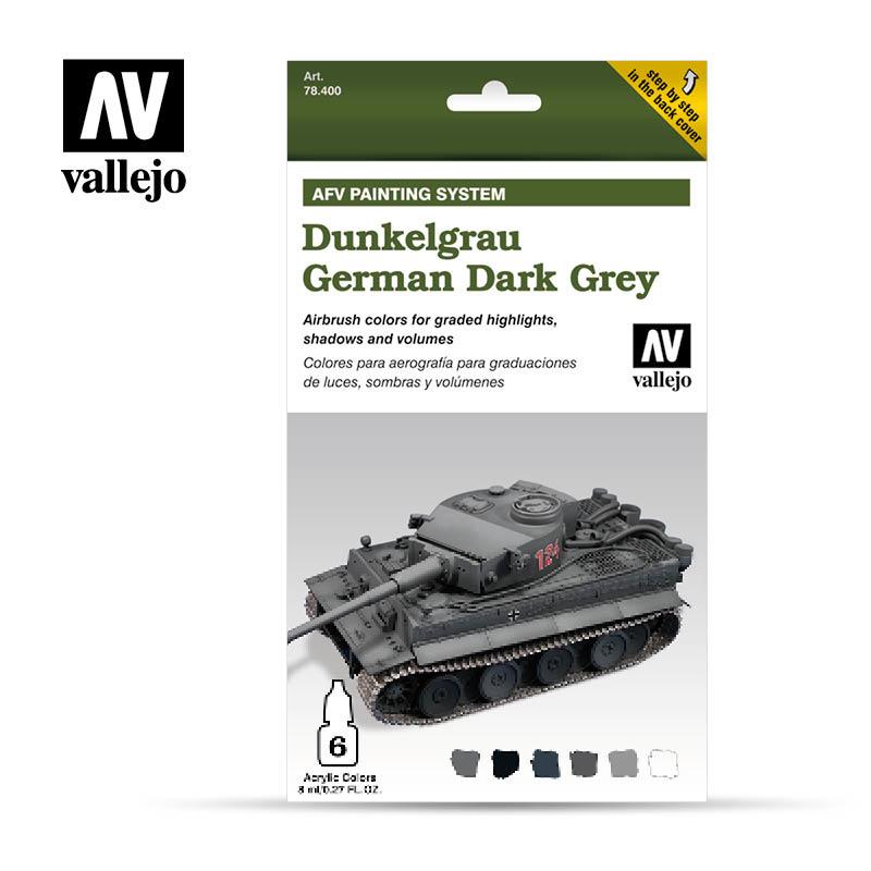 Vallejo AFV Dunkel Grau - Vallejo - VAL-78400
