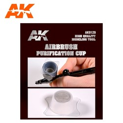 Purification Cups For Airbrush - AK-Interactive - AK-9129