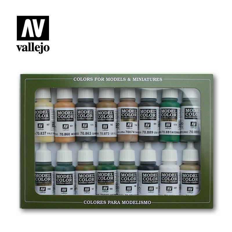Vallejo Model Color - Allied Forces WWII Set - Vallejo - VAL-70109