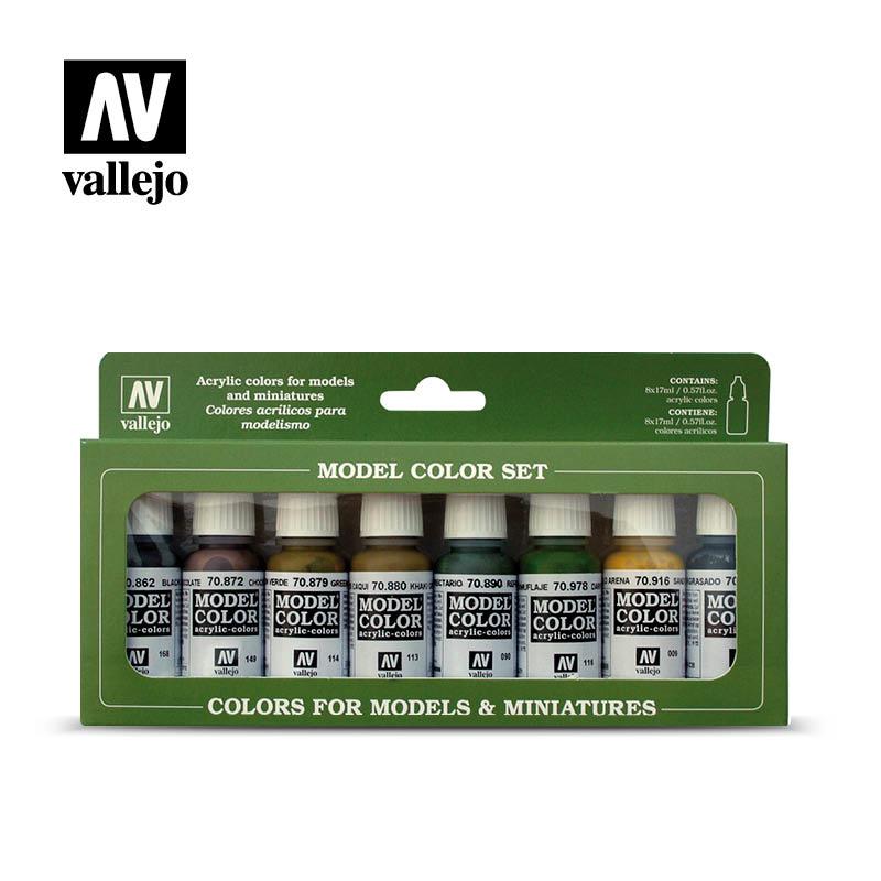 Vallejo Model Color - Panzer Colors Set - Vallejo - VAL-70108