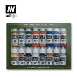 Model Color - Folkstone Basics Set - Vallejo - VAL-70101