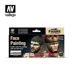 Model Color - Face Painting Set - Vallejo - VAL-70119