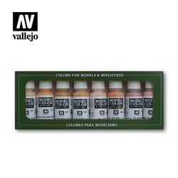 Model Color - Face & Skintones Small Set - Vallejo - VAL-70124