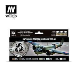 Model Air - Raf Colors Coastal Command 1939-1945 Set - Vallejo - VAL-71148