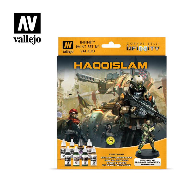 Vallejo Model Color - Infinity Haqqislam Miniature Paint Set Set - Vallejo - VAL-70237