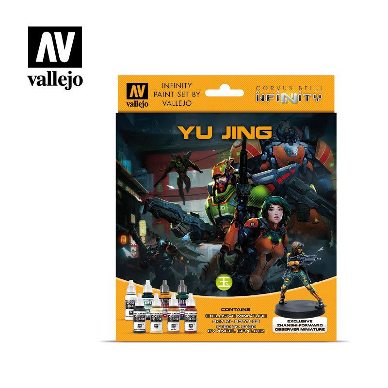 Vallejo Model Color - Infinity Yu Jing Miniature Paint Set Set - Vallejo - VAL-70235