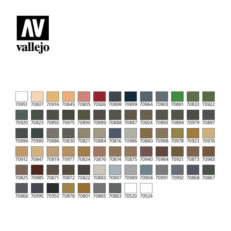 Vallejo  Model Color - Military Colors Set - Vallejo - VAL-70173