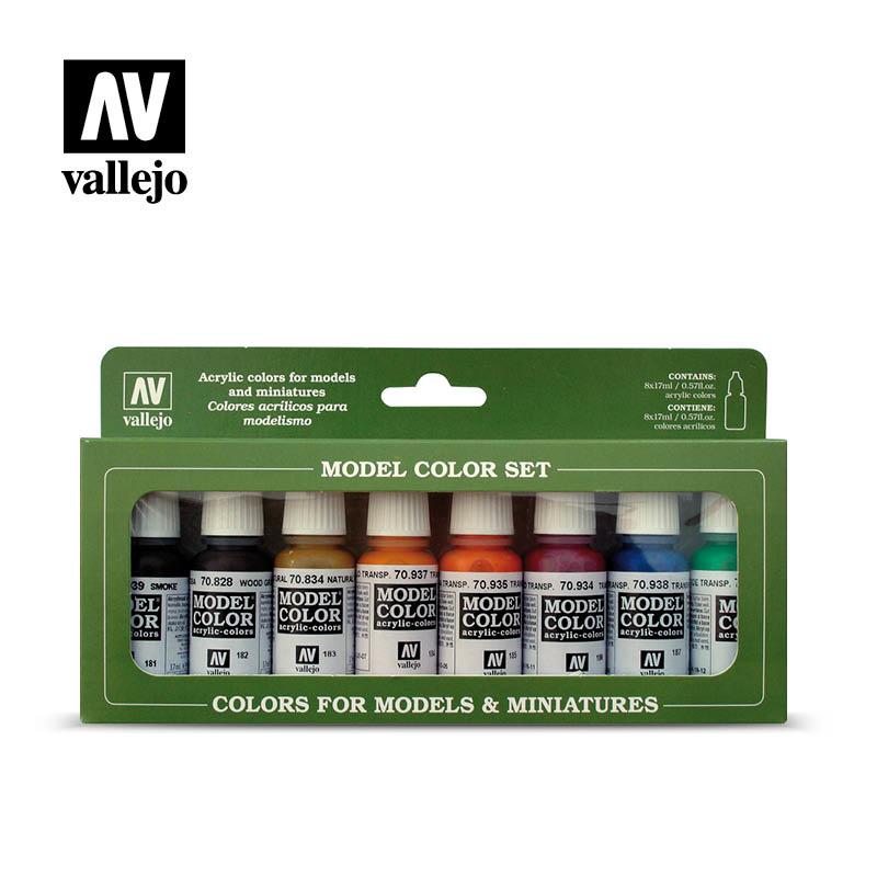 Vallejo Model Color - Transparent Set - Vallejo - VAL-70136