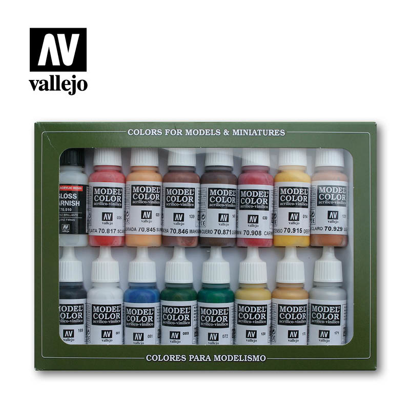 Vallejo Model Color - American Revoltion Set - Vallejo - VAL-70148