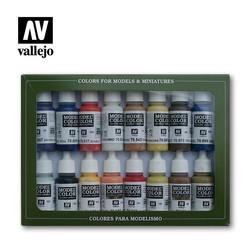 Model Color - American Colonial Set - Vallejo - VAL-70147