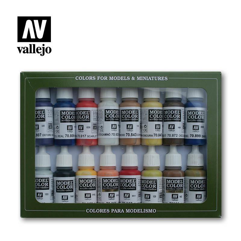 Vallejo Model Color - American Colonial Set - Vallejo - VAL-70147