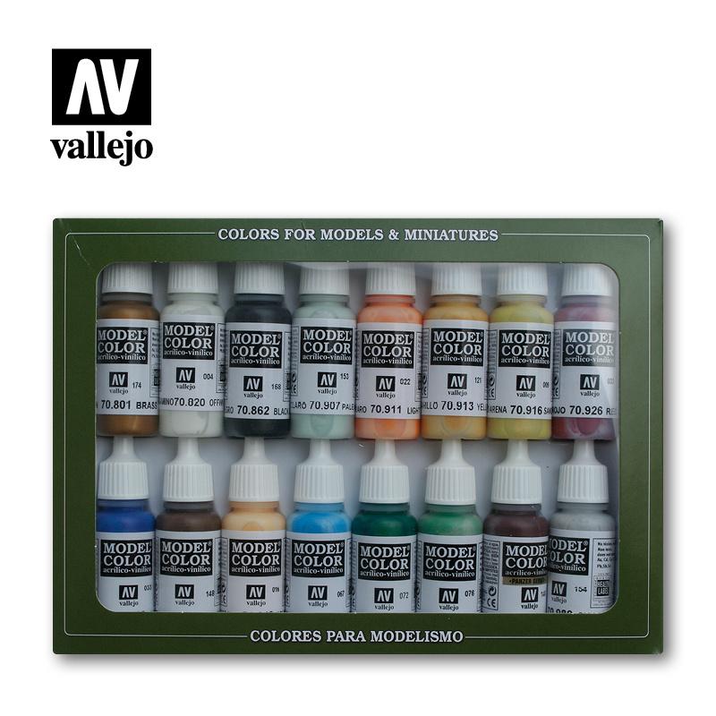 Vallejo Model Color - Naval - Steam Era Set - Vallejo - VAL-70146
