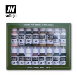 Model Color - Equestrian Colors Set - Vallejo - VAL-70144