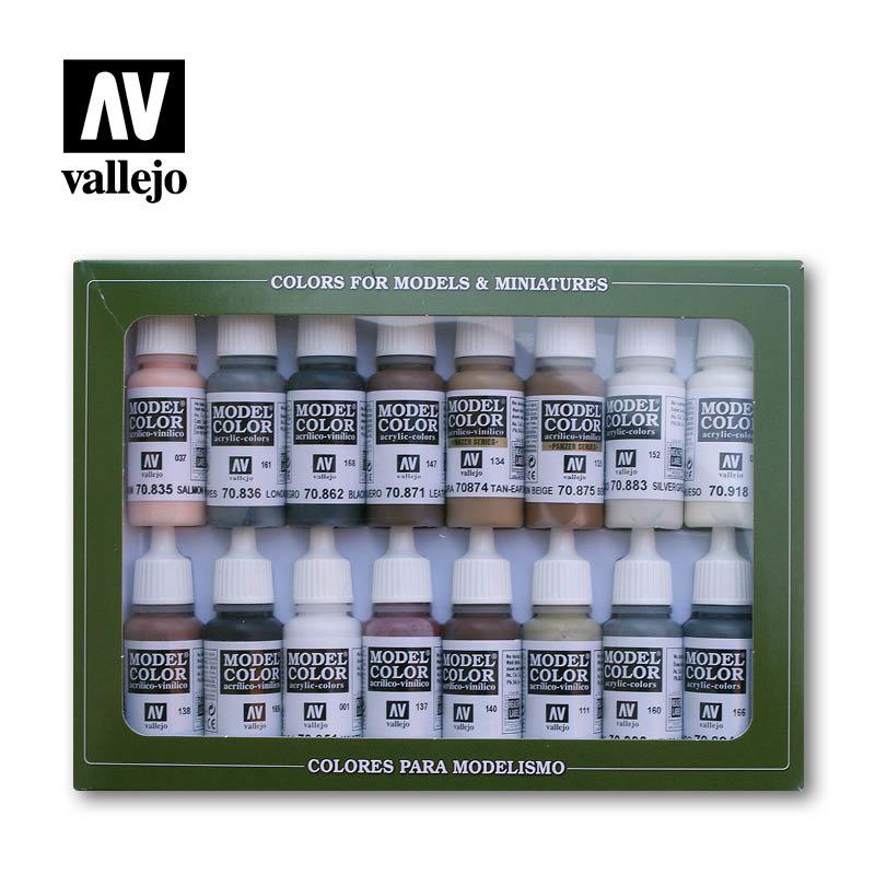 Vallejo Model Color - Equestrian Colors Set - Vallejo - VAL-70144