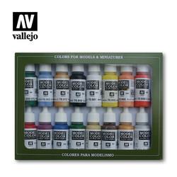 Model Color - Basic Colors USA Set - Vallejo - VAL-70140