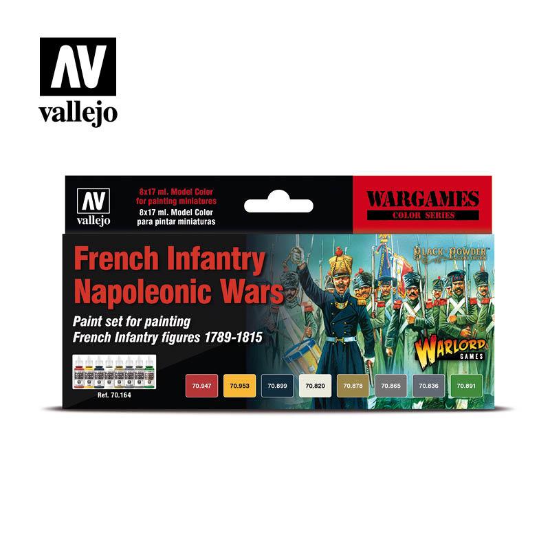 Vallejo Model Color - French Infantry Napoleonic Wars Set - Vallejo - VAL-70164