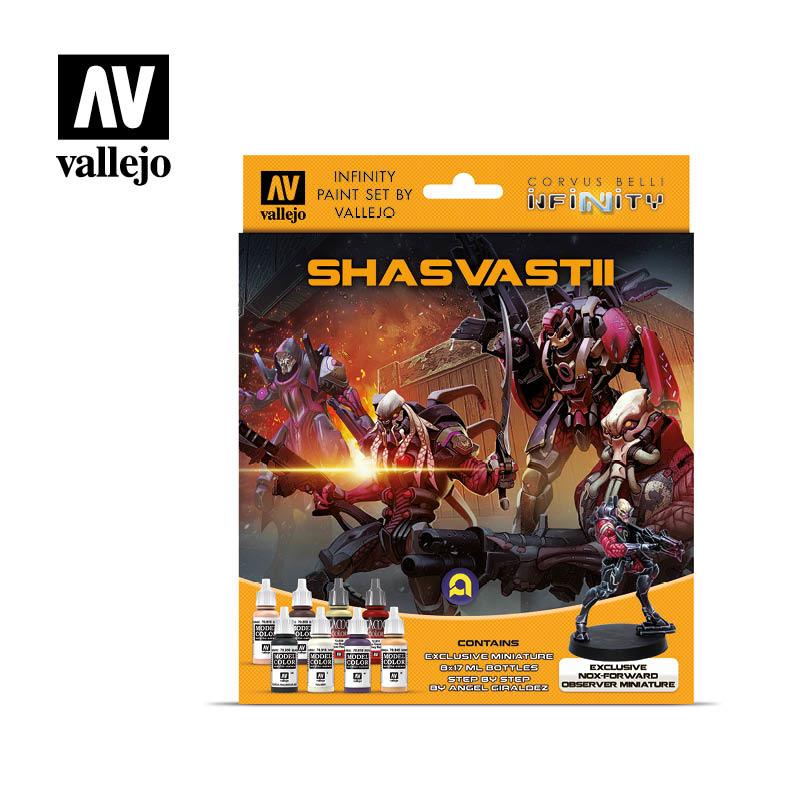 Vallejo Model Color - Infinity Shasvastii Exclusive Miniature Set - Vallejo - VAL-70241