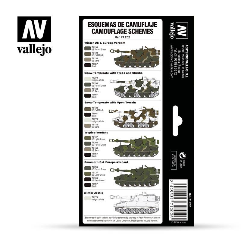 Vallejo Model Air -Vallejo - Merdc Camo Colors Set - Vallejo - VAL-71202