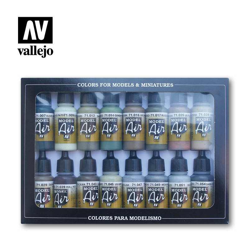 Vallejo Model Air - Allied Forces WWII Set - Vallejo - VAL-71180