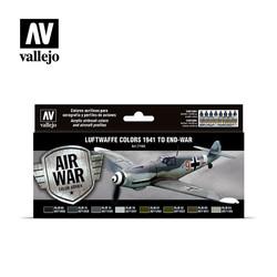 Model Air - Luftwaffe colors 1941 to end-war Set - Vallejo - VAL-71166