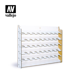 Wall Mounted Paint Display For 17ml bottles - Vallejo - VAL-26010