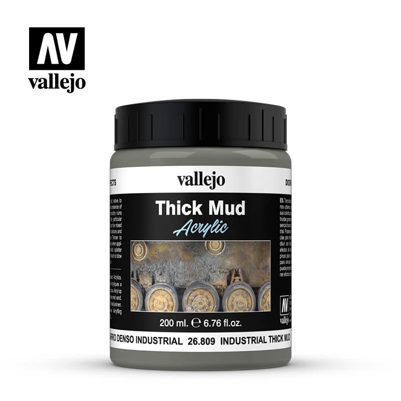 Vallejo Industrial Splash Mud - 200ml - Vallejo - VAL-26809