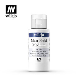 Matt Fluid Medium - 60ml - Vallejo - VAL-26545