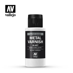 Gloss Metal Varnish - 60ml - Vallejo - VAL-26657