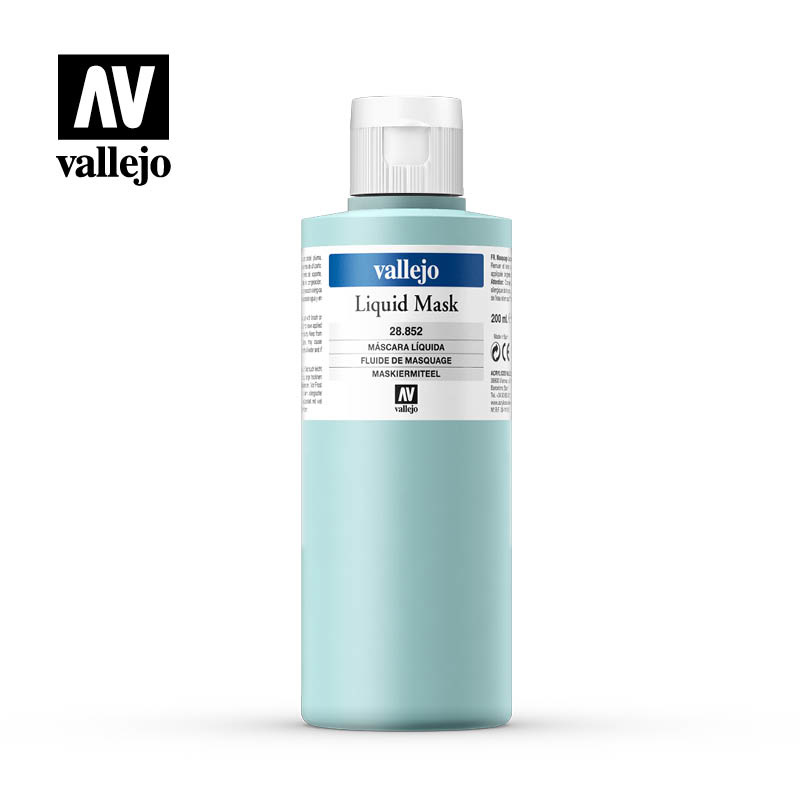 Vallejo Liquid Mask  - 200ml - Vallejo - VAL-28852