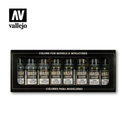 Set Of Washes - ml - Vallejo - VAL-73998