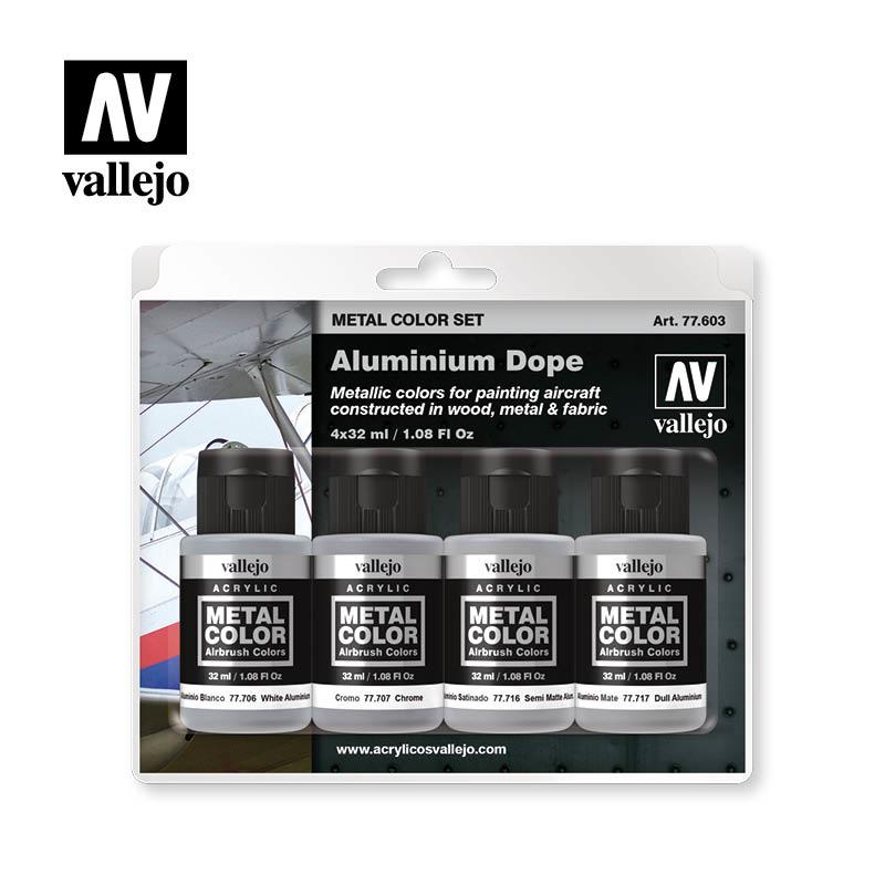 Vallejo Aluminium Dope - Vallejo - VAL-77603