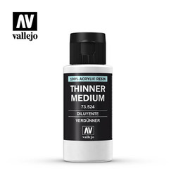 Model Color - Thinner Medium - 60ml - Vallejo - VAL-73524