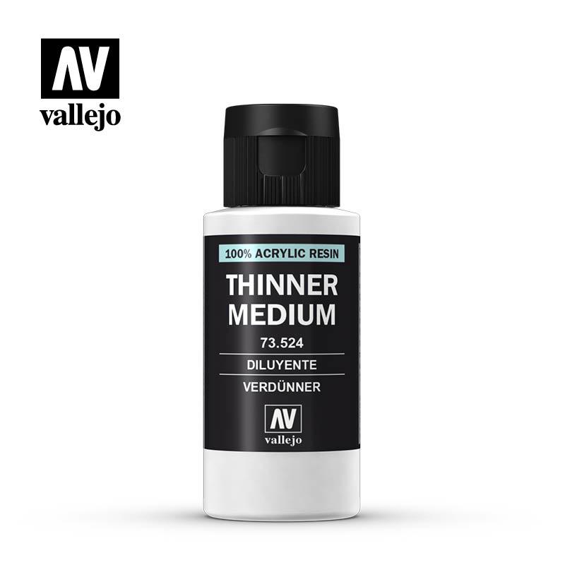 Vallejo Model Color - Thinner Medium - 60ml - Vallejo - VAL-73524
