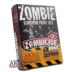 Zombie Survivor Paint Set - The Army Painter - TAP-WP8009