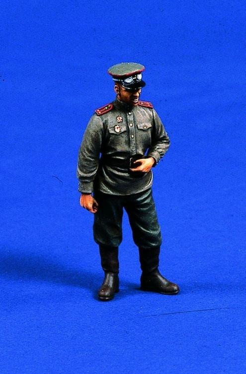 Verlinden Productions Russian Tank Officer WWII - Scale 1/35 - Verlinden Productions - VLP-0290