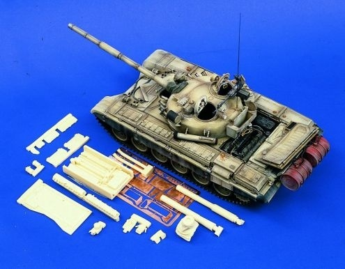 Verlinden Productions T-72 M1 Update for Tamiya kit 35160 - Scale 1/35 - Verlinden Productions - VLP-0781