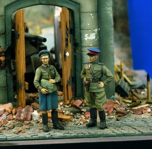 Verlinden Productions Soviet Officers WWII - Scale 1/35 - Verlinden Productions - VLP-0905